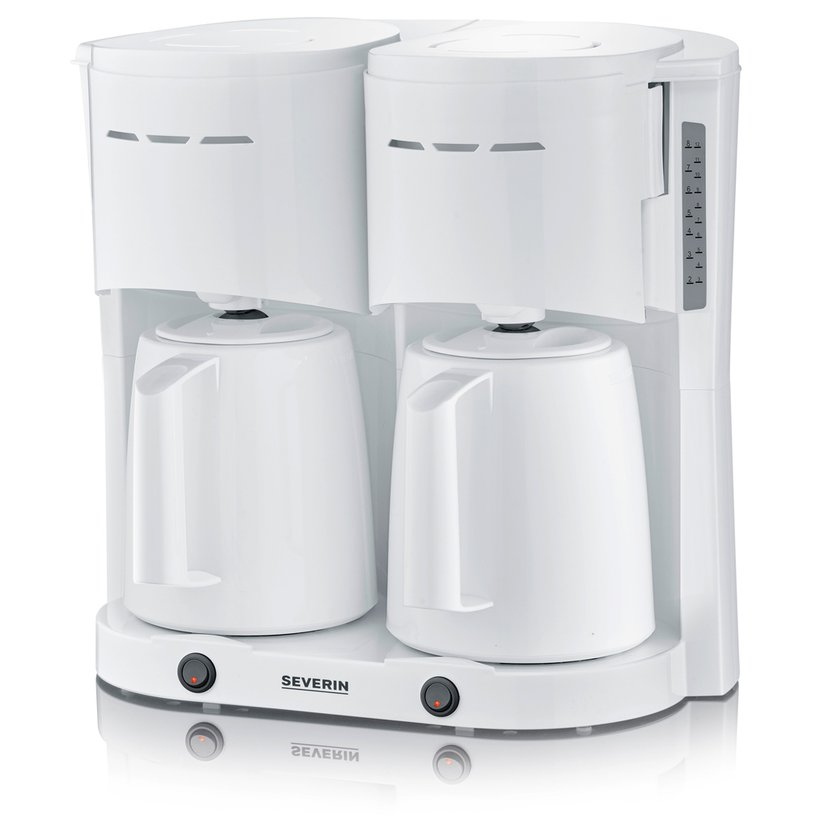 Severin Double Thermos Brewer White