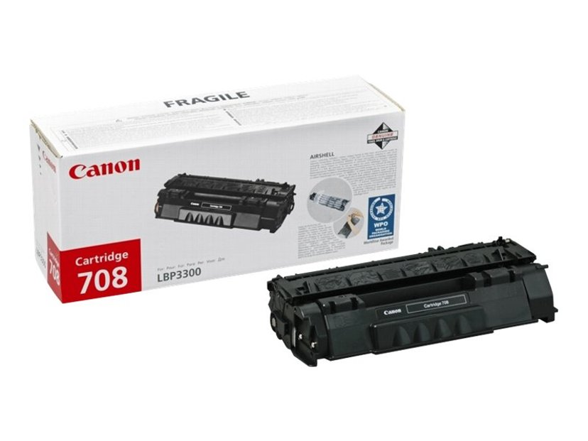 Canon Toner Sort CRT-708H - 6k - LBP3300/3360