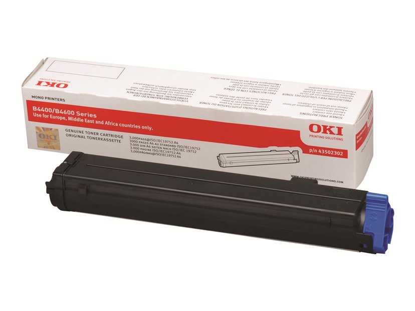 OKI Toner Sort 3k - B4400/4600