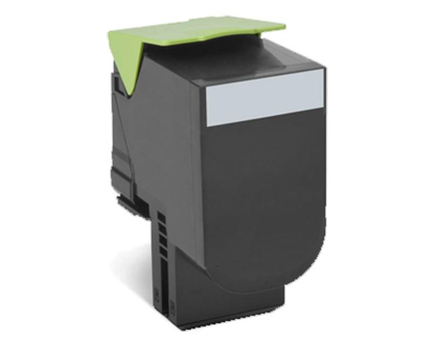 Lexmark Toner Svart 80C2HK0 HC 4k