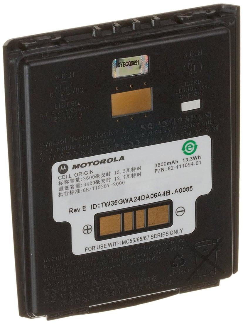 Zebra Batteri 3600mAh - MC55/65