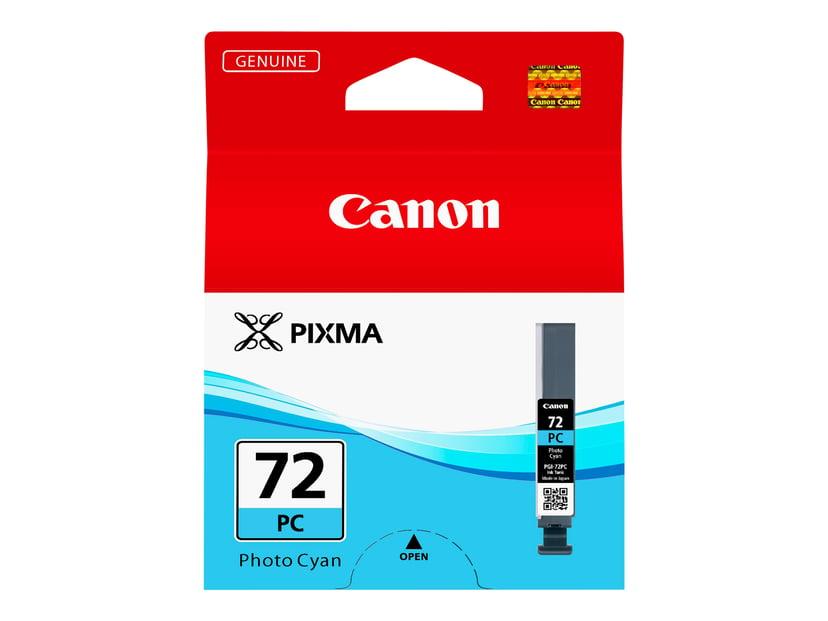 Canon Blæk Foto Cyan PGI-72PC - PRO-10