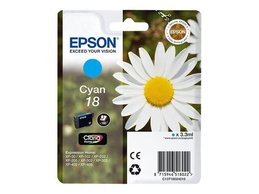 Epson Blekk Cyan T1802 - XP-302
