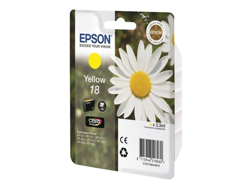 Epson Bläck Gul T1804 - XP-302