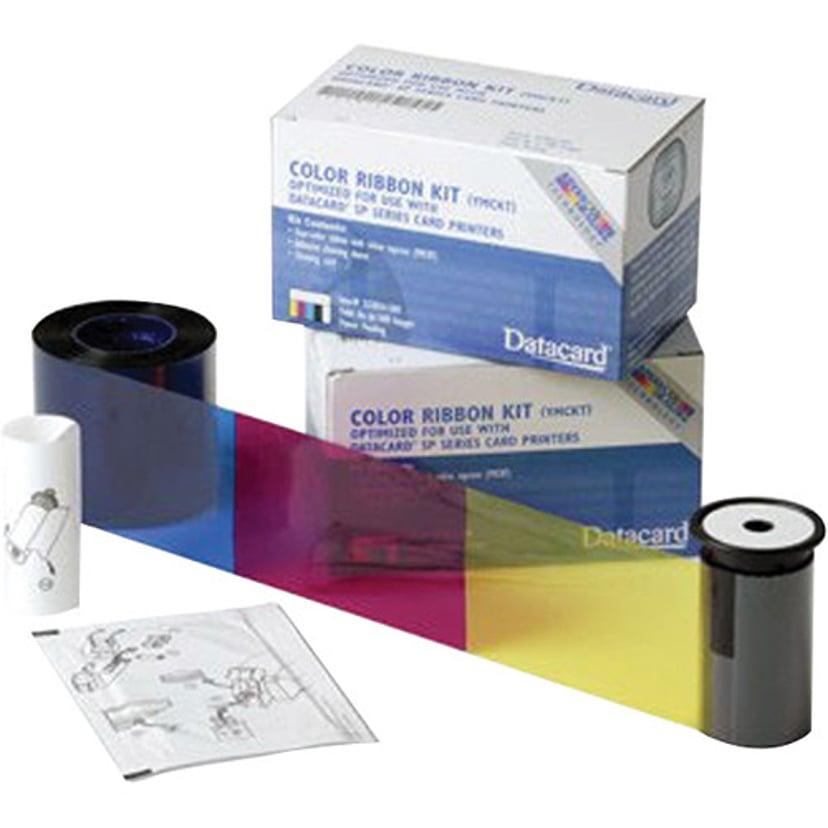 Datacard Färgband Color YMCKT 500 Fält - SD260/SP35/55/75