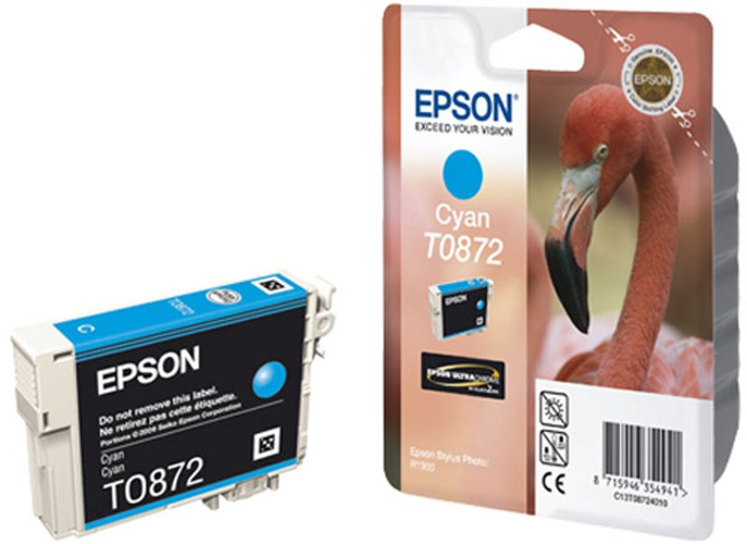 Epson Bläck Cyan T0872 - R1900