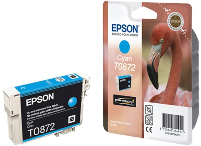 Epson Blekk Cyan T0872 - R1900