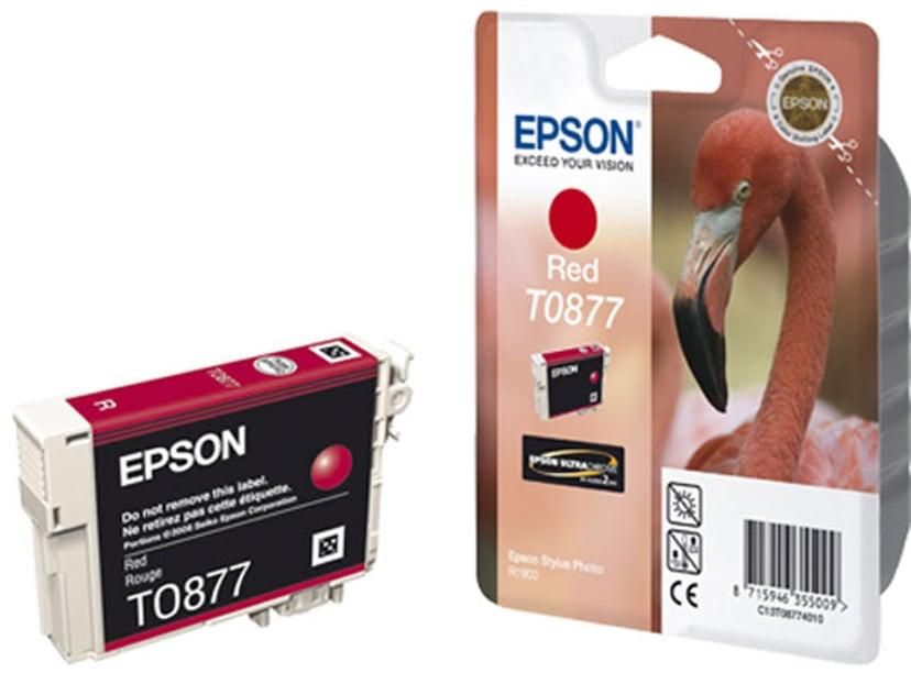 Epson Bläck Röd T0877 - R1900