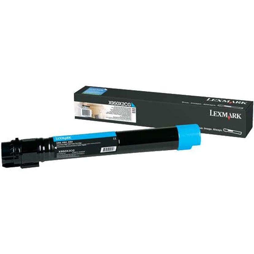 Lexmark Toner Cyan 22k - X95X