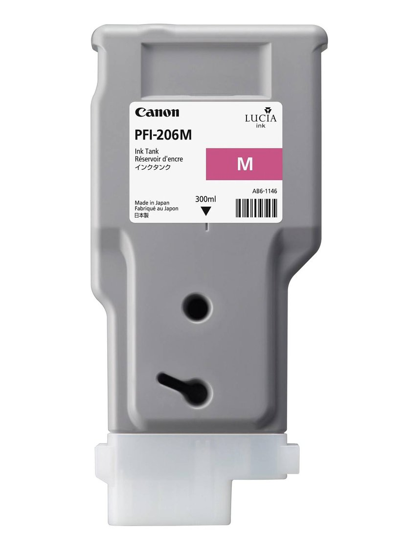 Canon Blekk Magenta PFI-206M