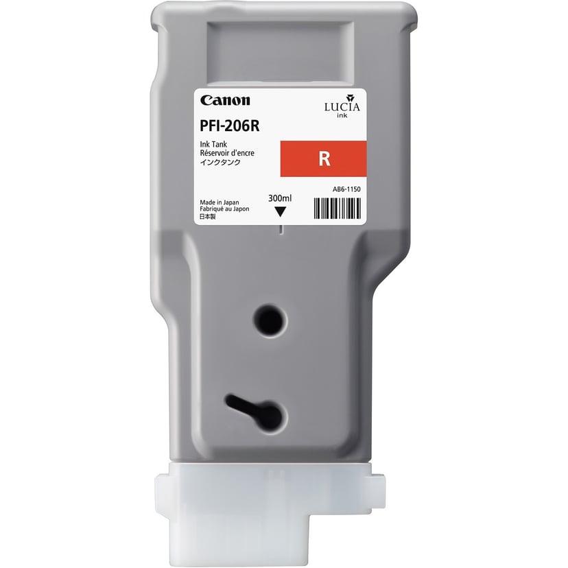 Canon Bläck Röd PFI-206R
