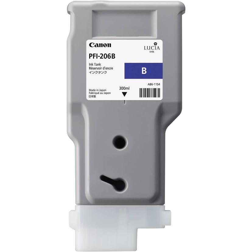 Canon Muste Sininen PFI-206B