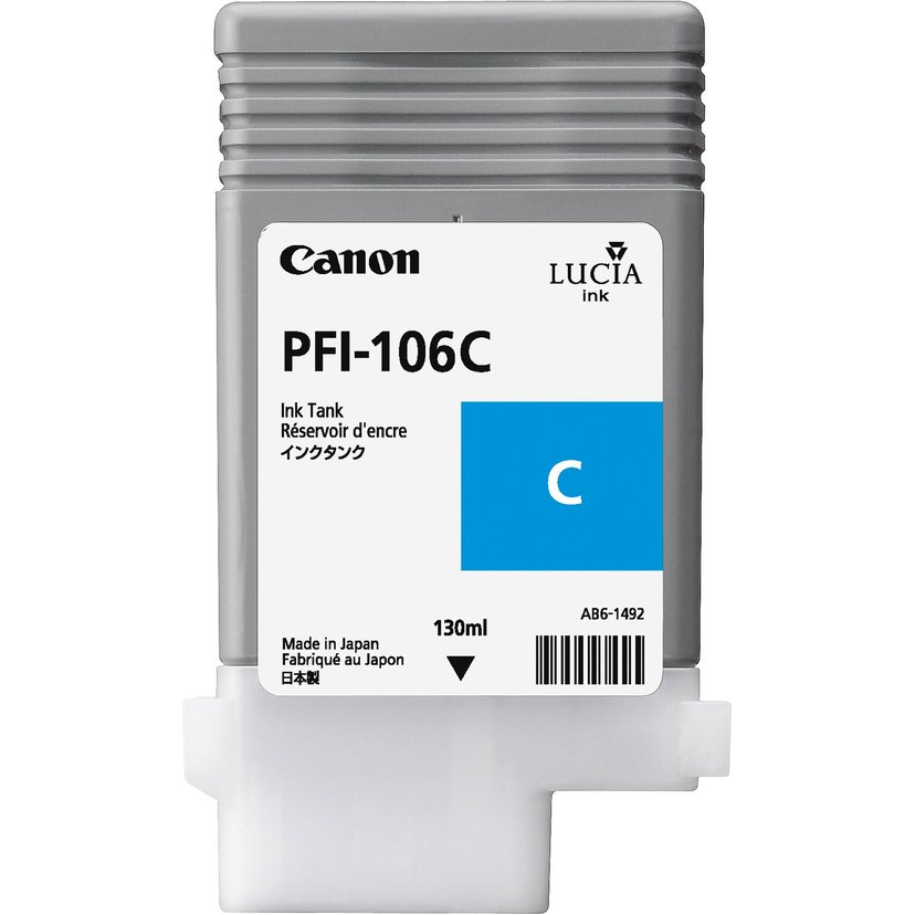 Canon Blekk Cyan PFI-106C