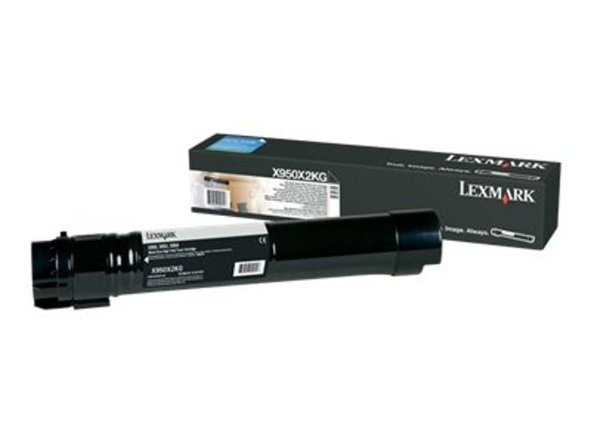 Lexmark Toner Svart 32k - X95X