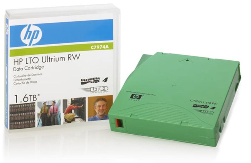 HPE Ultrium Non-Custom Labeled Data Cartridge LTO Ultrium 1.6Tt 20kpl