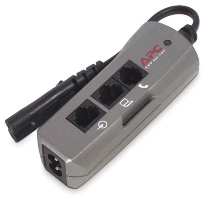 APC SurgeArrest Notebook Pro 4A Ekstern 1st Strøm IEC 60320 C7 Sølv
