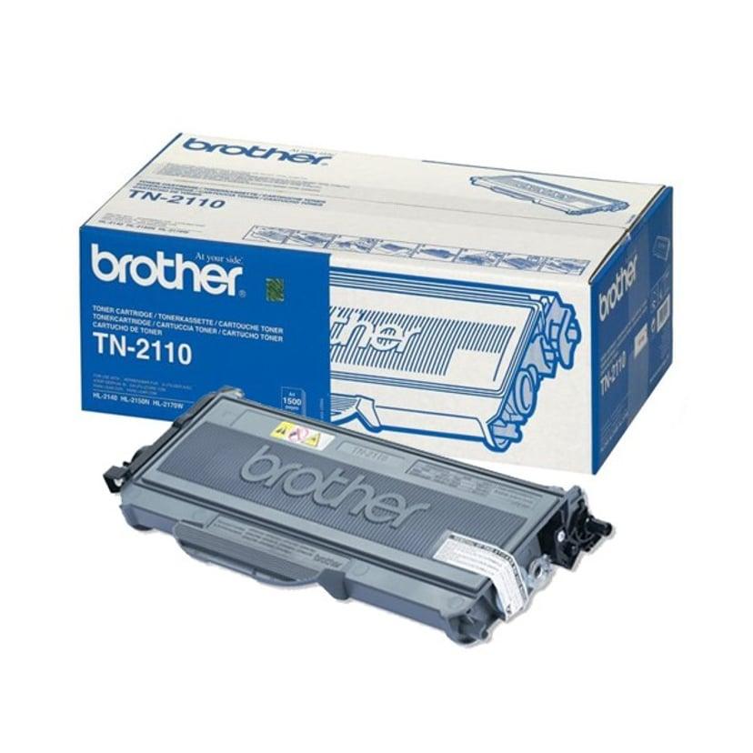 Brother Toner Sort TN-2110 1.5k - HL-2170W