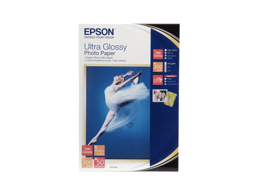 Epson Papper Photo Ultra Glossy 10X15cm 50-Ark 300g