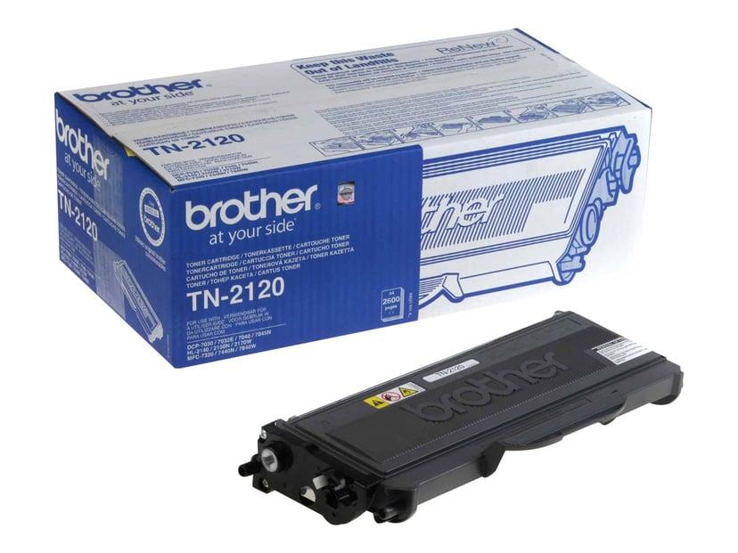 Brother Toner Sort TN-2120 2.6k - HL-2170W