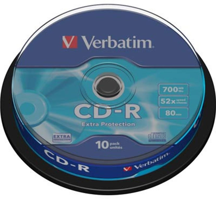 Verbatim 10 x CD-R 700,000GB