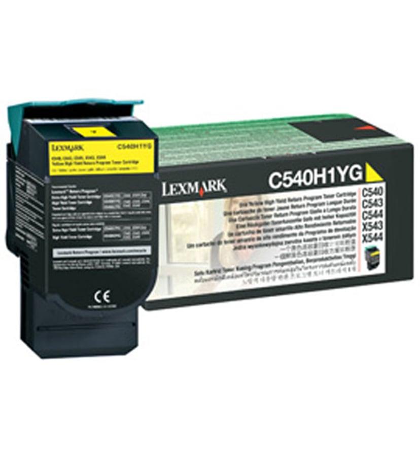Lexmark Toner Geel 2k - C540/X543