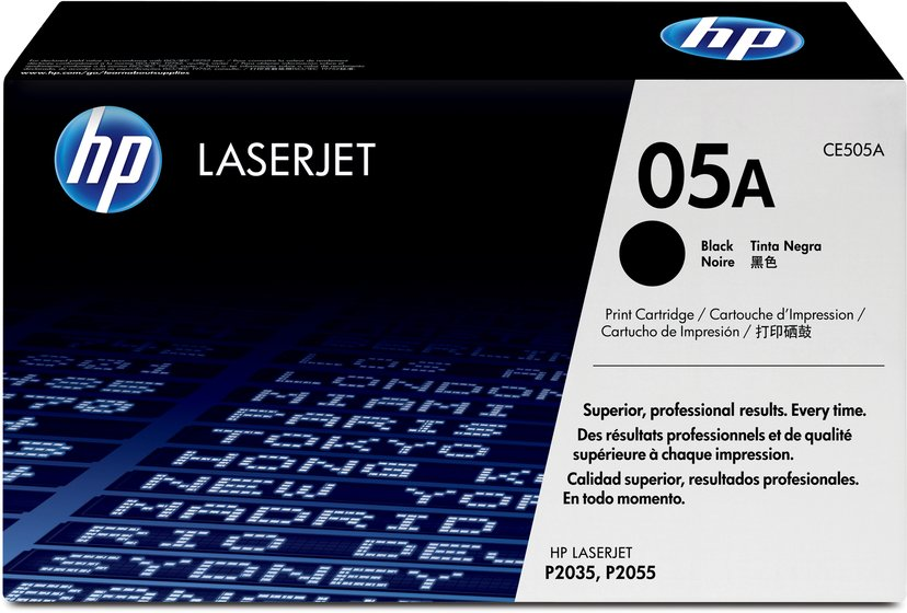 HP Toner Sort 05A 2.3K - CE505A