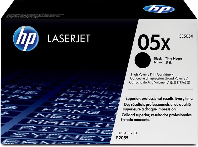 HP Toner Svart 6.5K - CE505X