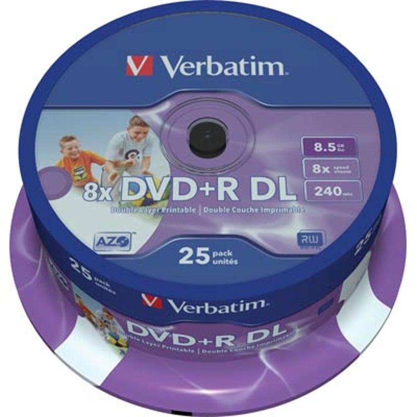 Verbatim 25 x DVD+R DL 8.5GB