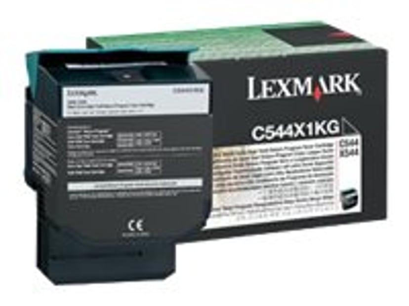 Lexmark Toner Sort 6k Return - C544/X544