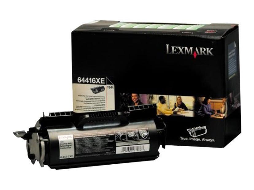 Lexmark Toner Svart 32k - T644 Return