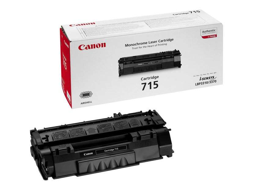 Canon Toner Sort 715 3k - LBP3370/3310