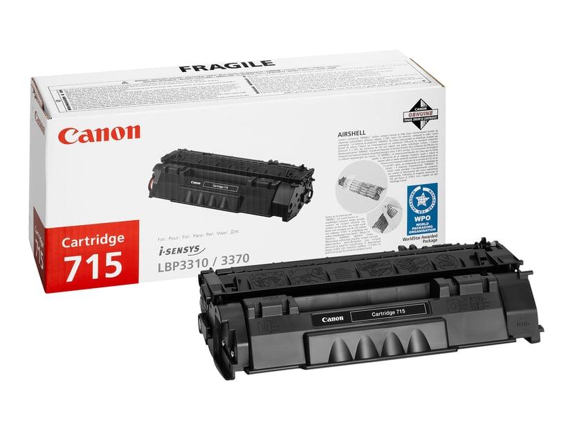 Canon Toner Zwart 715 3k - LBP3370/3310