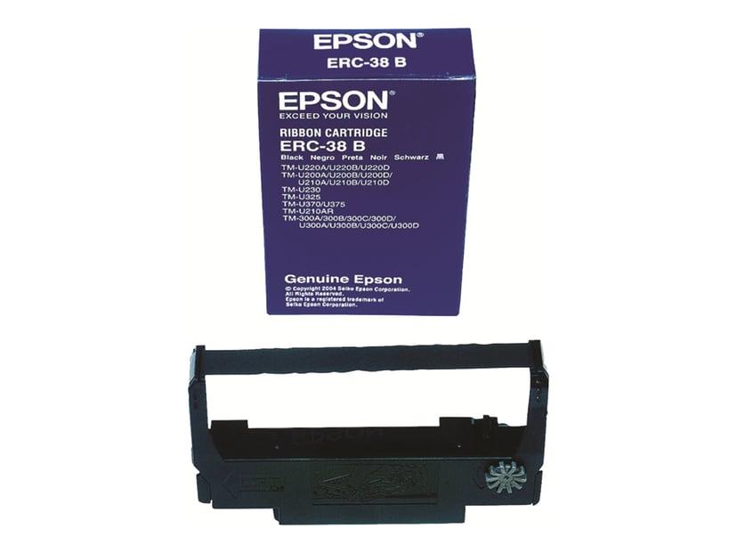Epson Färgband Svart ERC 38B