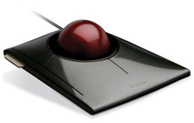 Kensington Slimblade Trackball Styrekule Kablet Svart