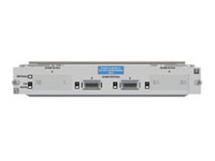 HPE Switch yl 10-GbE 2P CX4 + 2P X2 Module