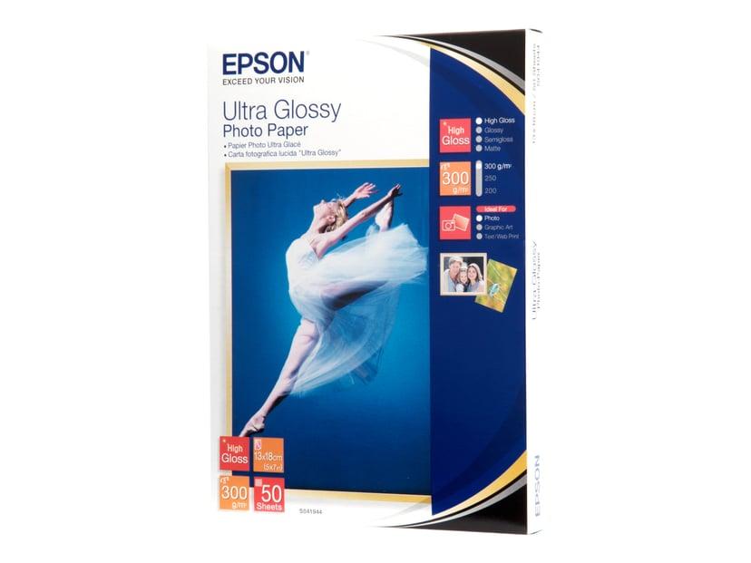 Epson Papir Photo Ultra Glossy 13X18cm 50-Ark 300g