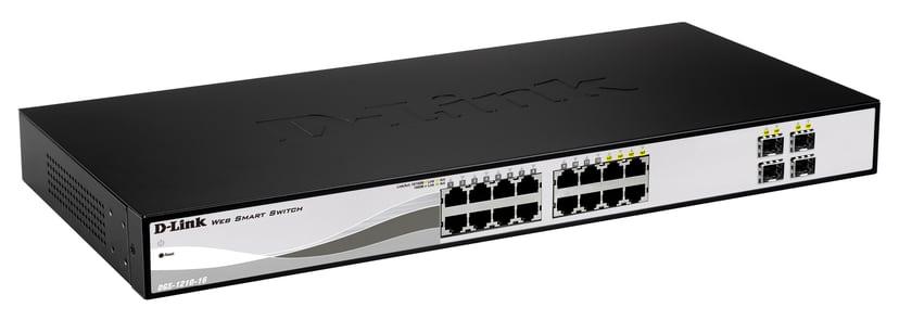 D-Link DGS-1210-16 16-Port Gigabit Smart Switch