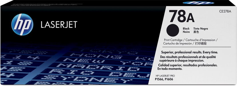 HP Toner Zwart 78A 2.1K - CE278A