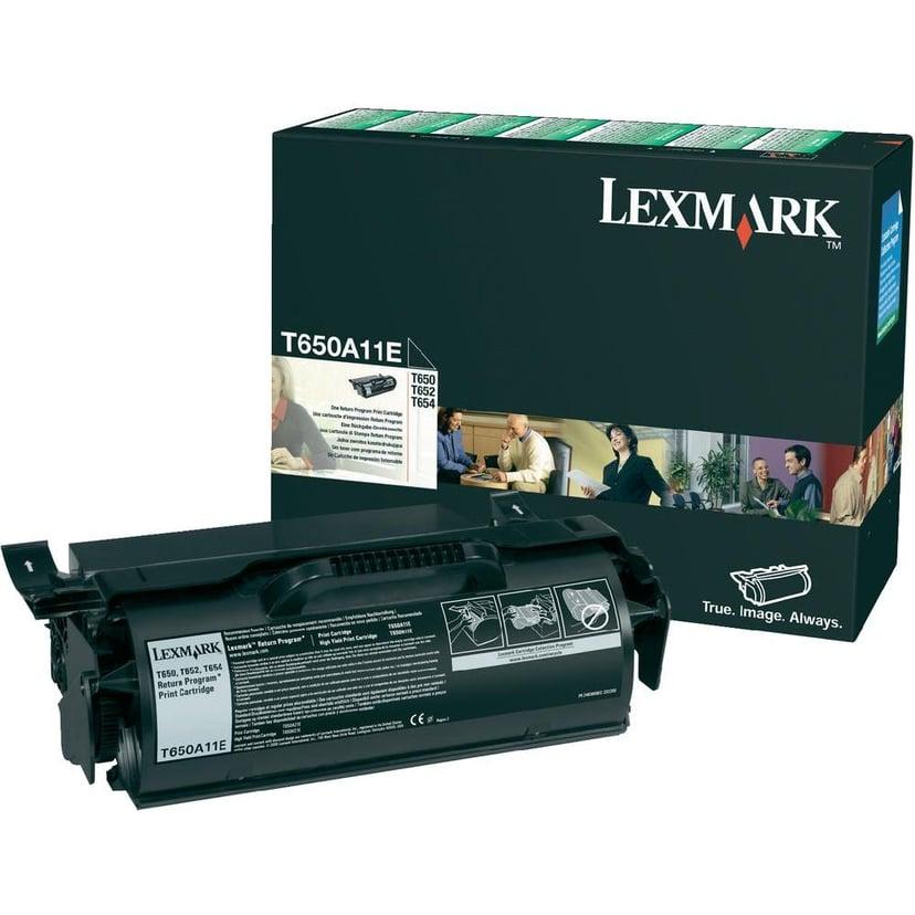 Lexmark Värikasetti Musta T52X/650/652/654 RE - T650A11E