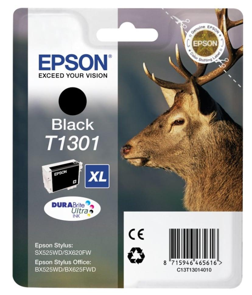 Epson Blæk Sort T1301 XL - BX320FW/525WD