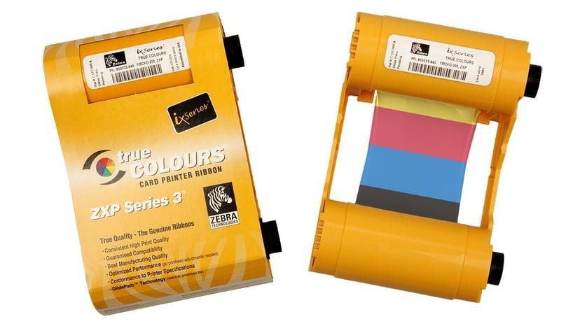 Zebra Farvebånd Color YMCKO 200 Print - ZXP series 3