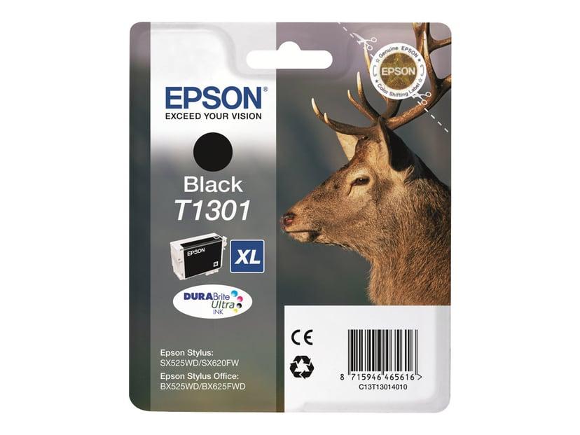 Epson Bläck Svart T1301 XL - BX320FW/525WD