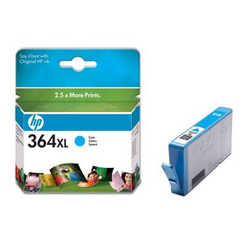 HP Blekk Cyan No.364XL PS D5460