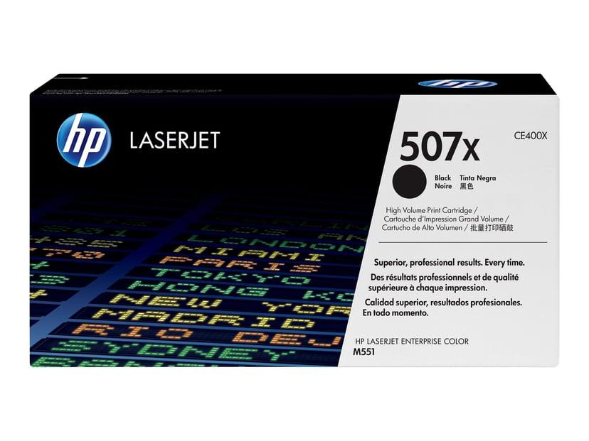 HP Toner Svart 507X 11K - CE400X