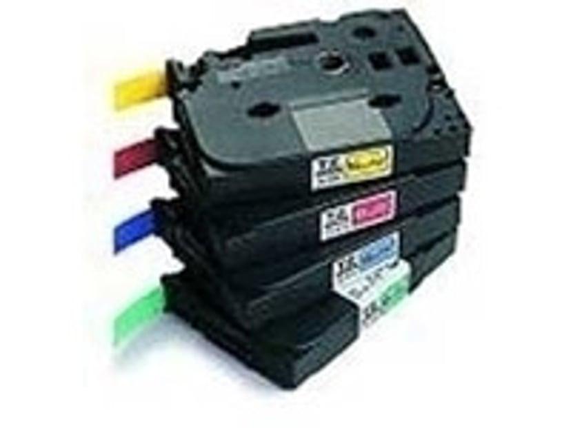 Brother Tape TZe-FX231 12mm Svart/Vit