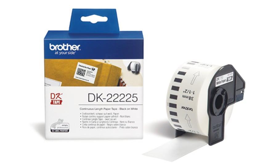 Brother Tape DK-22225 38mm Papper Löpande