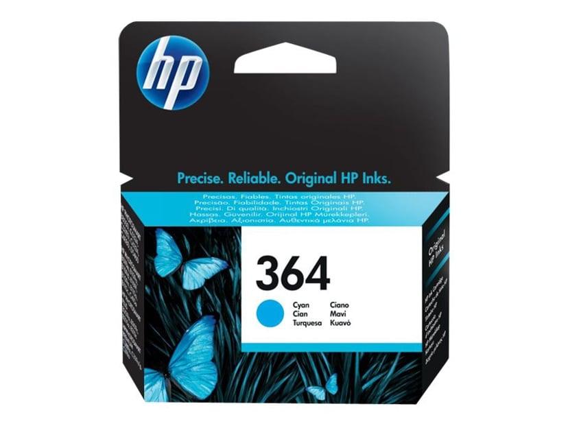 HP Blekk Cyan No.364 PS D5460