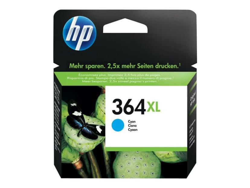HP Blæk Cyan No.364XL PS D5460