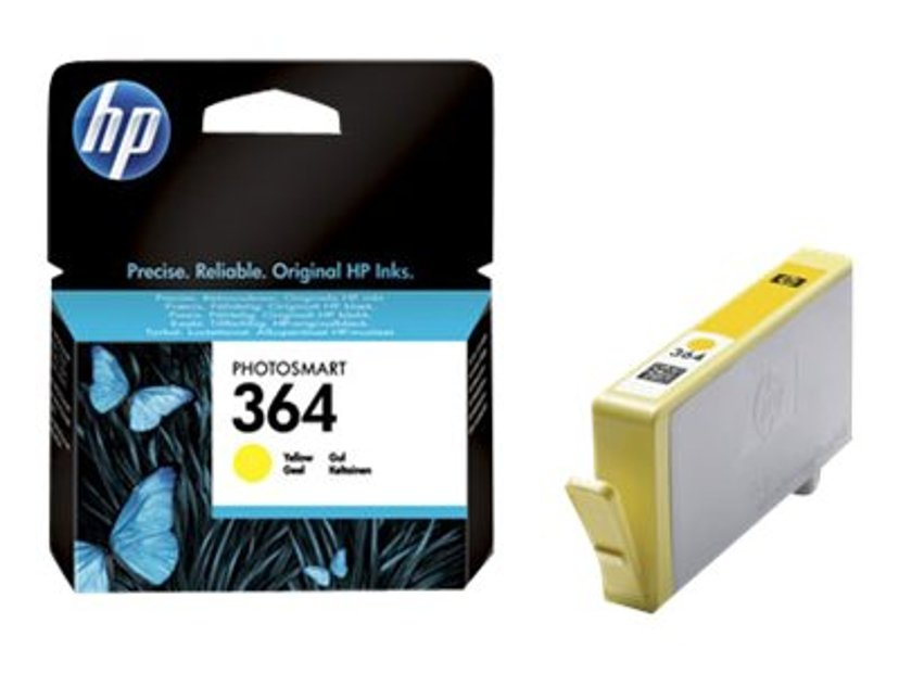 HP Blekk Gul No.364 PS D5460