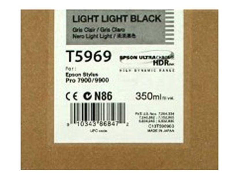 Epson Blekk Ljus Light Svart 350ml - 7900/9900